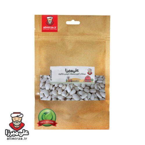 خرید آنلاین لوبیا سفید ارگانیک بسته بندی