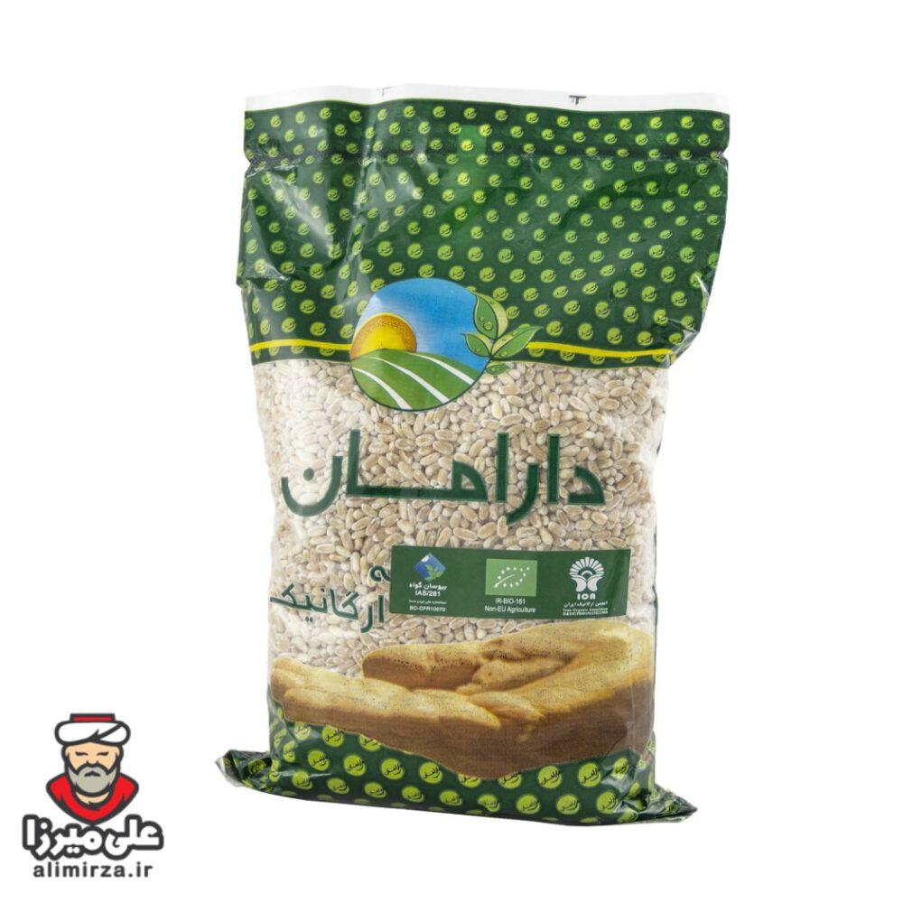 گندم پوست کنده ارگانیک دارامان